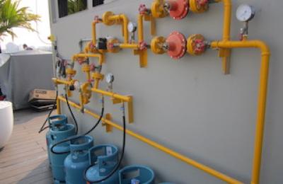 Thi công hệ thống gas